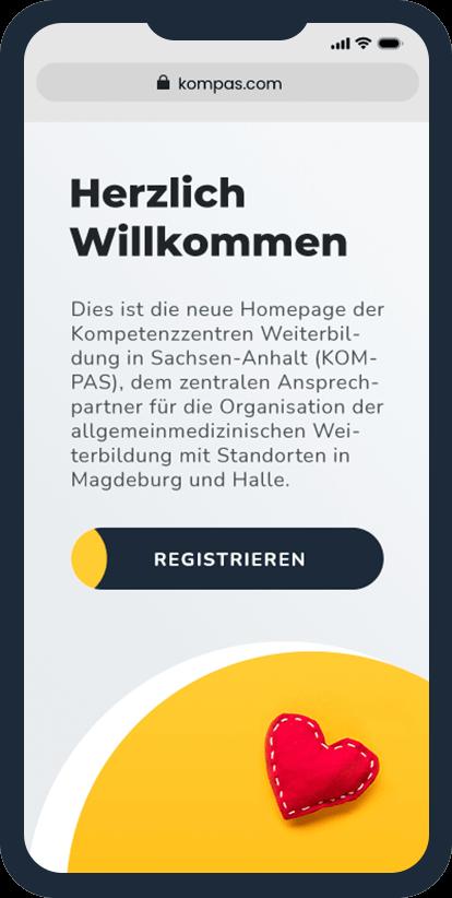 KOMPAS-Startseite mobil