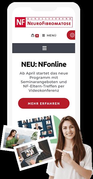 Go Digital Agentur Beispiel Website auf dem Handy