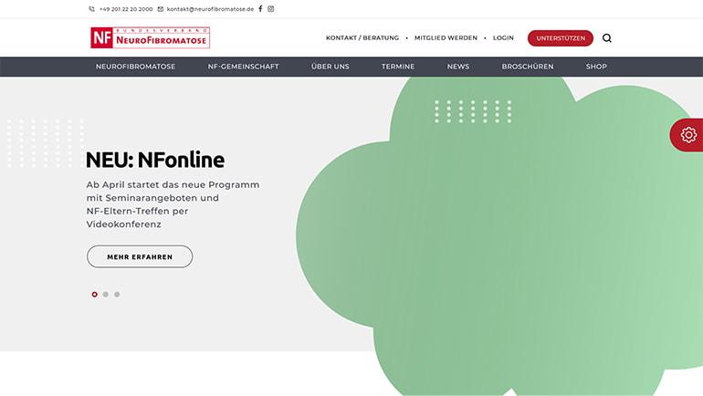 Go Digital Agentur Beispiel Website auf dem Desktop