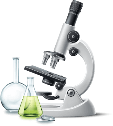 dekoratives Mikroskop